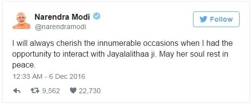 Narendra Modi Tweet 2